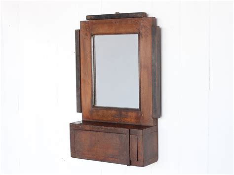 deco bathroom mirror sold scaramanga