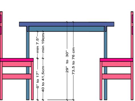 Kitchen Table Sizes by Standard Dining Table Image Collections Dining Table Ideas