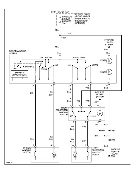 chevy venture power window wiring diagram get free image