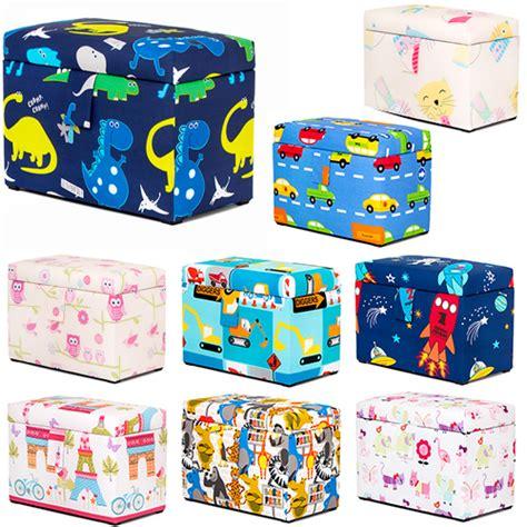Funtivity Pad Cover Toybox 1 owls chest soft closing foam padded storage children s bedroom ebay
