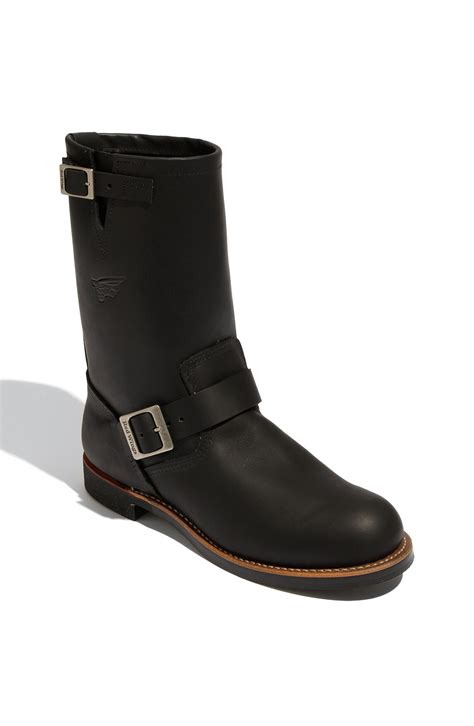wing engineer boots wing engineer boot in black for lyst