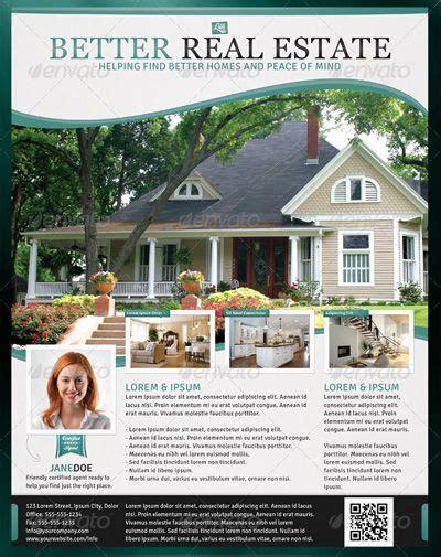 real estate flyer template design cre design