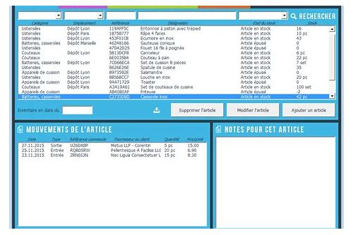 telecharger application gestion de stock excel