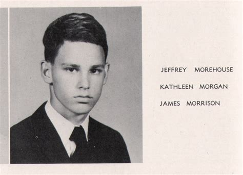 Notebook House by The Doors Two Original Jim Morrison High Yearbooks