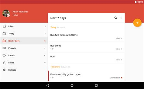todoist project templates todoist to do list task list android apps on play