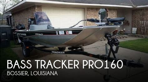 used tracker boats for sale in louisiana for sale used 2013 bass tracker pro pro160 in bossier