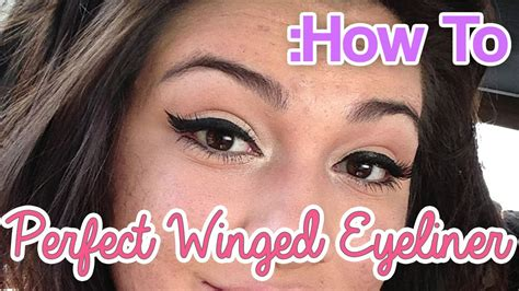 perfect winged eyeliner tutorial youtube how to perfect gel liquid winged eyeliner tutorial youtube