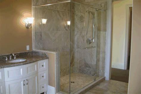 bathroom glass shower ideas glass shower enclousures