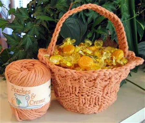 free knitted easter basket patterns easter baskets to knit and crochet free patterns