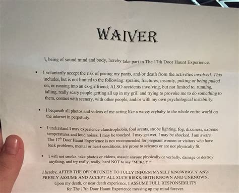 The Waiver You Have To Sign Yelp