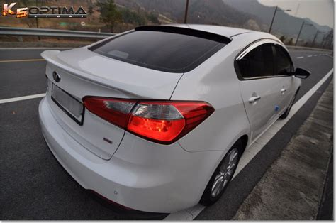 Kia Forte Spoiler Vendor Fs 2014 2017 Kia Forte Sedan Roof Spoiler By