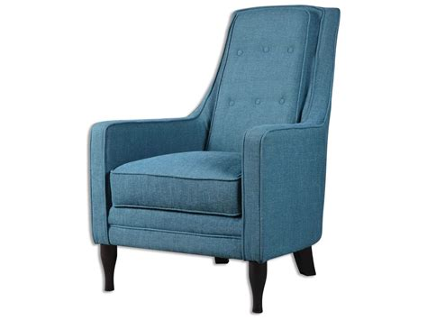 Blue Accent Chair Uttermost Katana Peacock Blue Accent Chair 23192