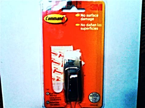 command strips new command bright chrome heavy duty decorative metal hook