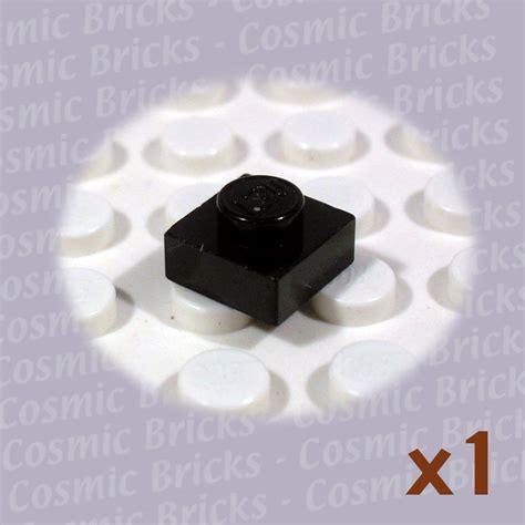 Lego Parts Lego Part 3024 302426 Black Plate 1x1 lego black plate 1x1 302426 3024 single n