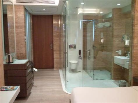 Door Design In India the glass bathroom that leave little to the imagination