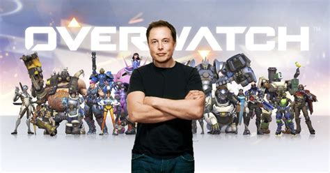 elon musk dead elon musk plays overwatch and other video games like