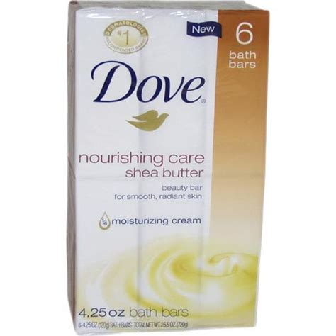 Dove Nourishing Care Sho 70 shop dove 4 25 ounce nourishing care shea butter