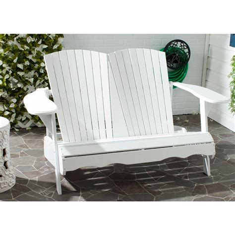 natural bench safavieh khara natural patio bench pat6705b the home depot
