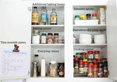tell all the best organization tips for your kitchen