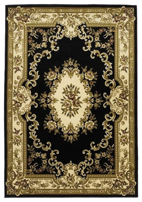 Area Rugs Salt Lake City Kas Rugs Corinthian Black Ivory Area Rugs Kas5310 Traditional Rugs Salt Lake