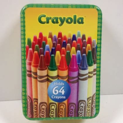 Crayola Drawers by Pearls And Nuts Crayola Large Storage Tin
