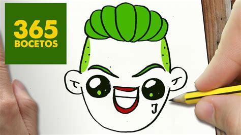 imagenes joker caritas como dibujar joker kawaii paso a paso dibujos kawaii