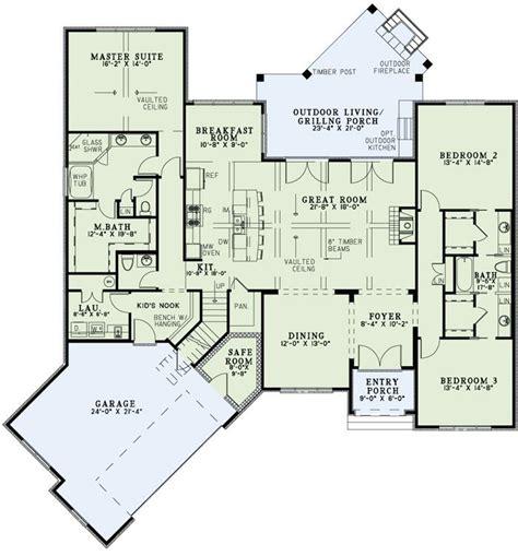 angled garage house plans craftsman house plans angled plan 60617nd split bedroom home plan with angled garage