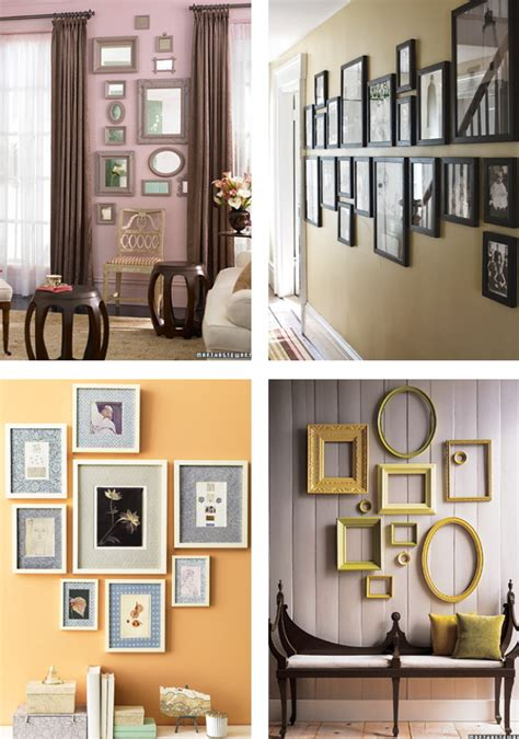 how to make a picture wall collage diy wall collages diy the thirty something