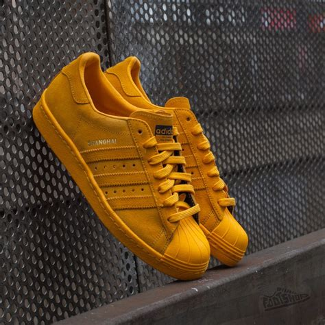 adidas city series adidas superstar 80s city series yellow footshop