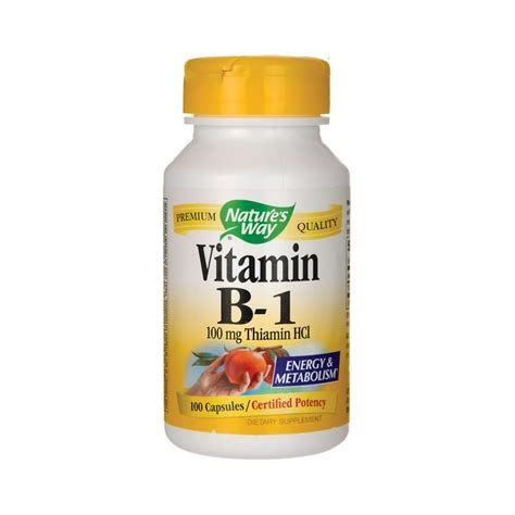 Vitamin I Vitamin B1 100 Mg 100 Caps