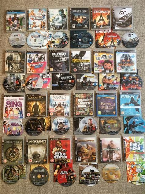 best ps3 games massive bundle of sony ps3 games inc classics like grand