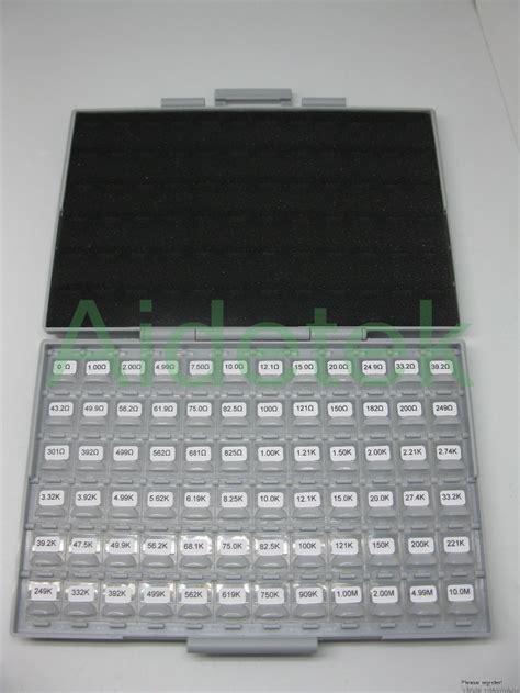 resistor kit e96 aidetek 0603 engineering sle kits 72 values 100pc e96 resistor kit 10m ohm rohs box in tool