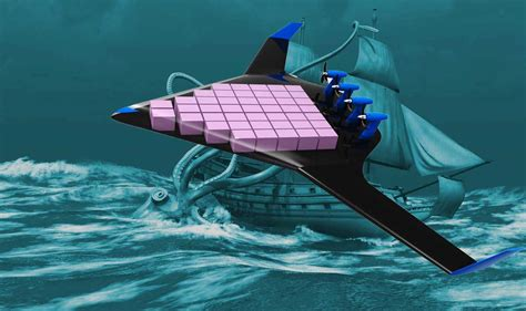 leviathan  disrupt unmanned global air freight