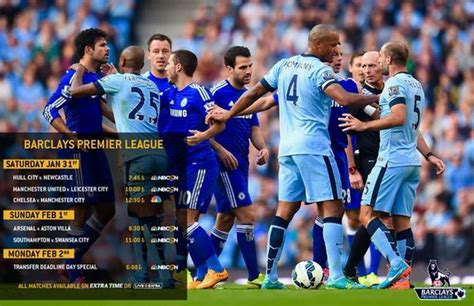epl viewership premier league saturday gameweek 23 tv times and open