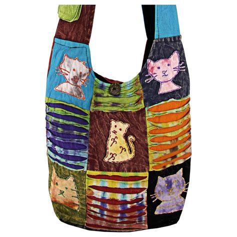Patchwork Sling Bag - patchwork cat sling bag the animal rescue site