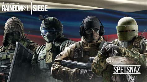 tom clancys rainbow  siege spetsnaz wallpapers hd
