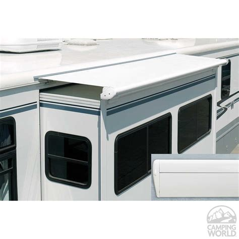 carefree slide out awning carefree of colorado up1810025 sideout kover iii white 181