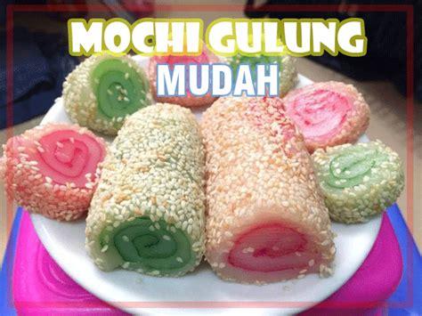Kue Jahe Gulung 1 mochi gulung mudah lezat kakikoki