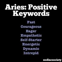 aries traits astrology pinterest