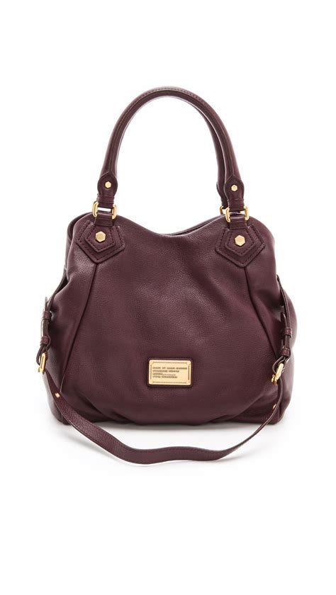 Marc By Marc Marc By Marc Miss Marc Canvas Zip Pouch by Lyst Marc By Marc Classic Q Fran Bag In Brown
