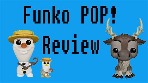 Funko Pop Sven olaf sven funko pop review