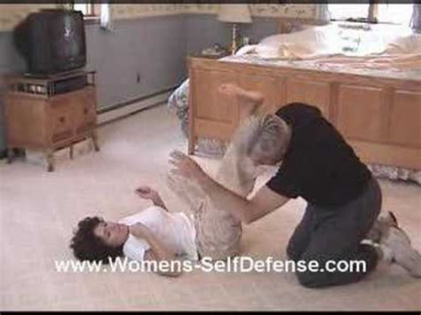 Women S Self Defense Against A Bedroom Rape Attempt Youtube