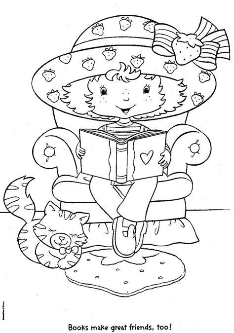 Transmissionpress Strawberry Shortcake Coloring Pages Strawberry Shortcake And Friends Coloring Pages
