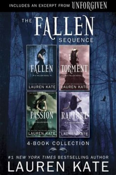 Novel Fallen Torment Kate the fallen series 4 book collection by kate