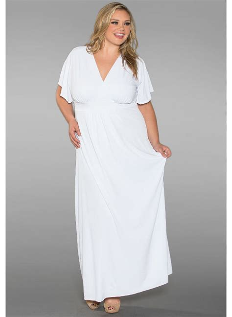 white maxi dress plus size plus size white dress dressed up girl