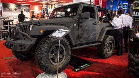 sema jeep yj 2012 sema rubber bully jeep wrangler live photos