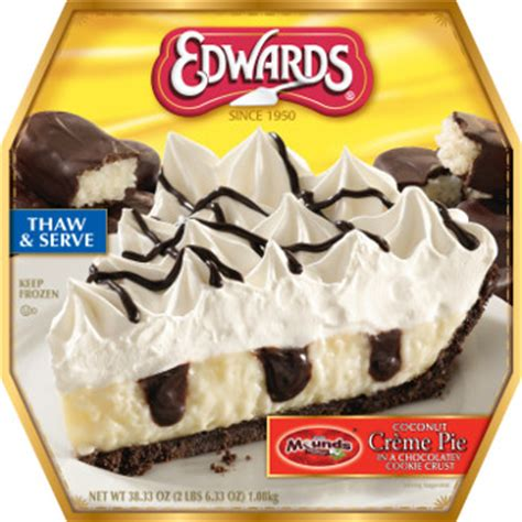 Popular Grocery Stores edward s desserts adds 3 trendy flavors to its frozen pies