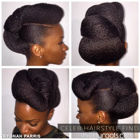 Black Twisted Updo Hairstyles by Hairstyle Evolution Teyonah Parris Hairstyles