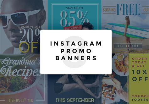Instagram Promo Banner Psd Templates Graphicsfuel Instagram Giveaway Template