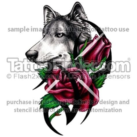 rose wolf tattoo 1000 images about tattoos on sleeve blue